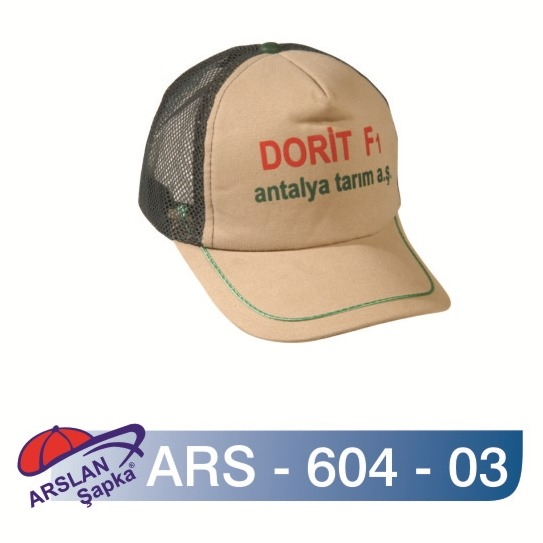 ARS-604-03 Fileli Şapka