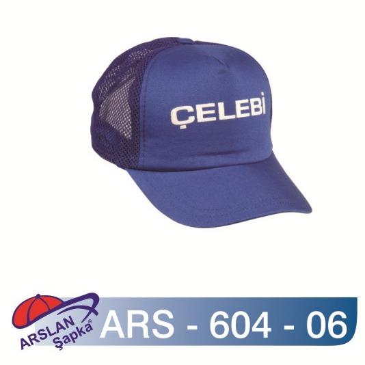 ARS-604-06 FİLELİ ŞAPKA